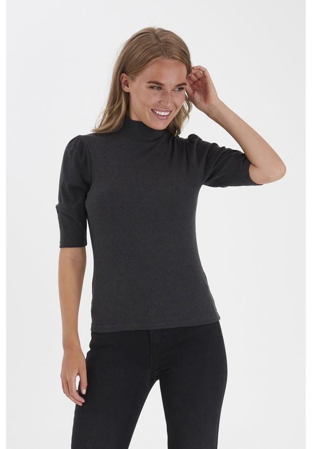 BYTOELLA  - T-shirt imprimé - dark grey melange