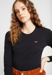 Levi's® - BABY TEE - Long sleeved top - black - 3