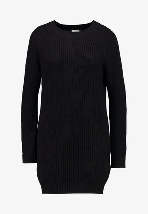 NMSIESTA O-NECK DRESS - Jumper dress - black