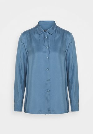 VADIER - Button-down blouse - azurblau