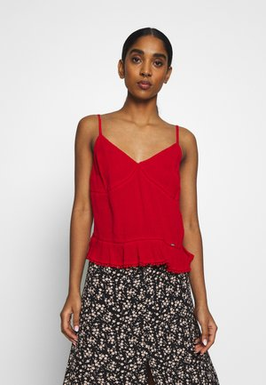 SUMMER CAMI - Top - apple red