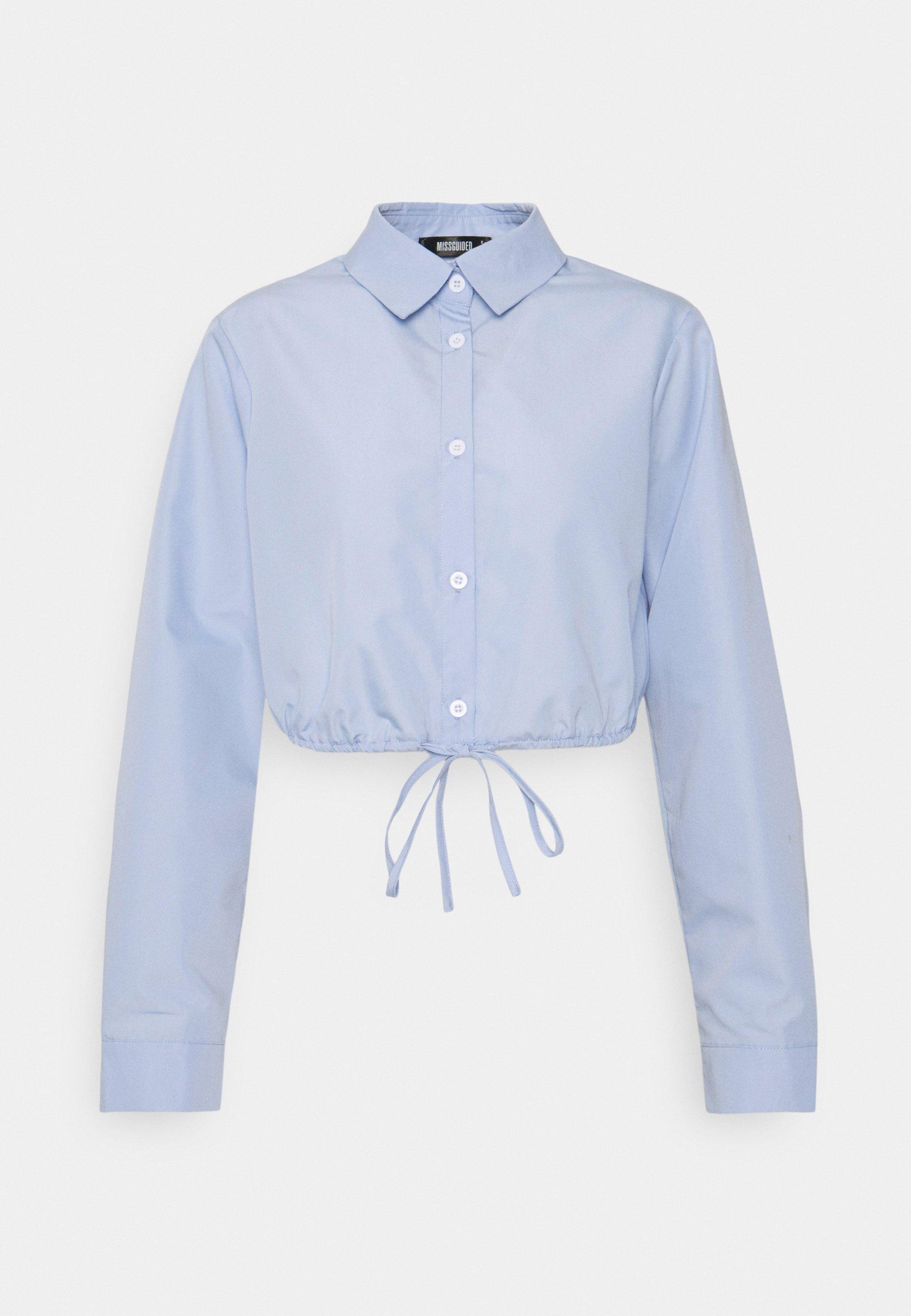 Donna FRONT TIE CROP SHIRT - Camicia