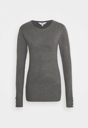 CUFF CREW NECK JUMPER - Maglione - grey
