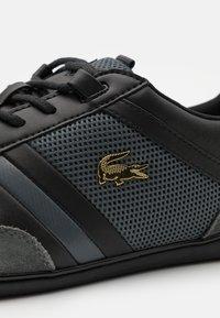 Lacoste - GIRON - Sneakers - black/dark grey - 5