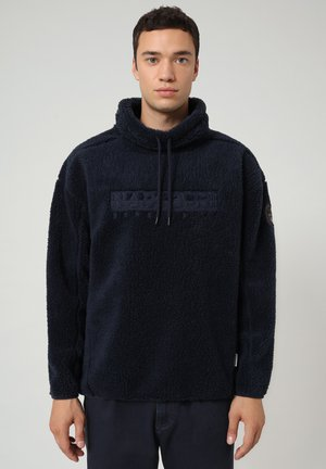 TEIDE - Fleece jumper - blu marine