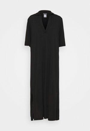 POLO DRESS - Maxiklänning - black