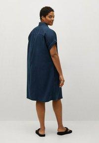 Violeta by Mango - UVA - Košilové šaty - dunkles marineblau - 2