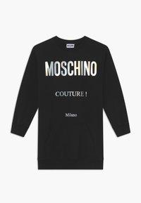 MOSCHINO - Denní šaty - black - 0