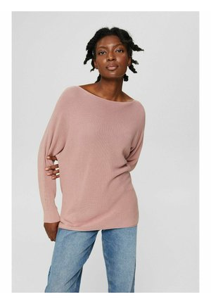 BATWING SWEATER - Jumper - old pink