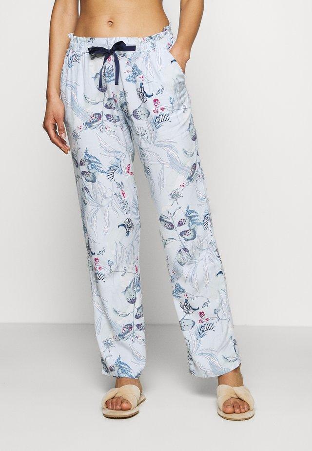 MIX & MATCH TROUSERS  - Pyžamový spodní díl - blue light combination