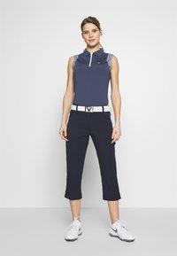 Calvin Klein Golf - ALAMERE SLEEVELESS - Poloshirts - navy - 1