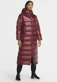 Nike Sportswear - PARKA - Down coat - dark beetroot cactus flower black - 0