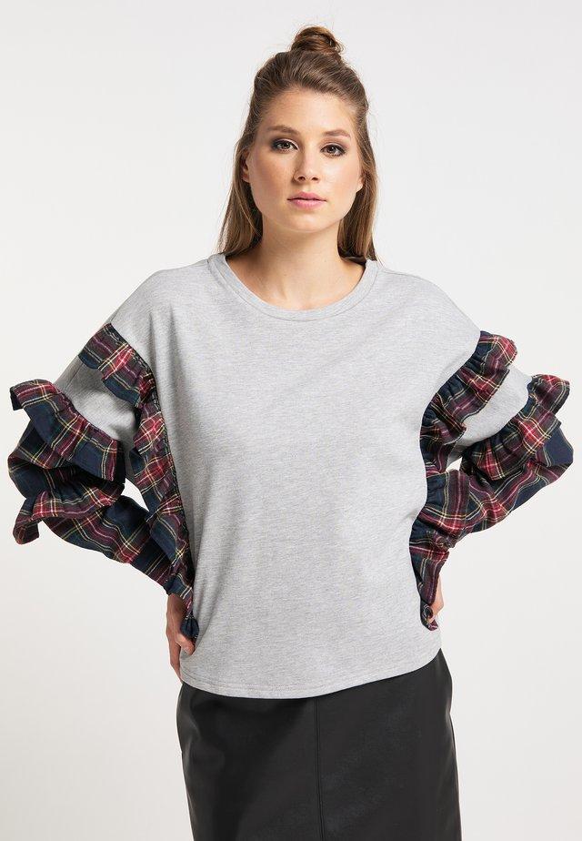 Sweatshirts - grau melange