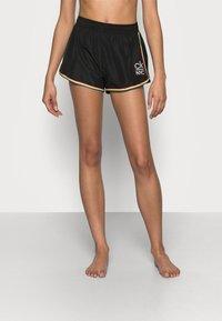 Calvin Klein Swimwear - PRIDE EDIT - Spodní díl bikin - black - 0