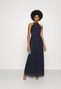 WAL G. - LAILA DRESS - Vestido de fiesta - navy blue - 1