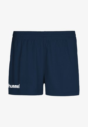 CORE - Sports shorts - mottled blue