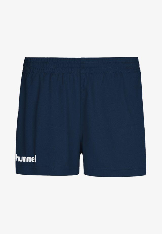 CORE - kurze Sporthose - mottled blue