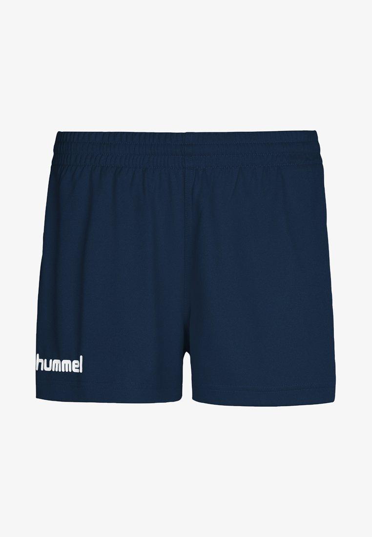 Hummel - CORE - Sports shorts - mottled blue