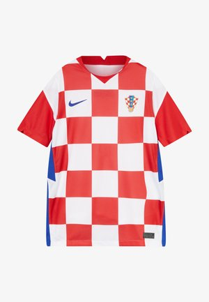 KROATIEN CRO Y NK BRT STAD SS HM - Voetbalshirt - Land - white/university red/bright blue