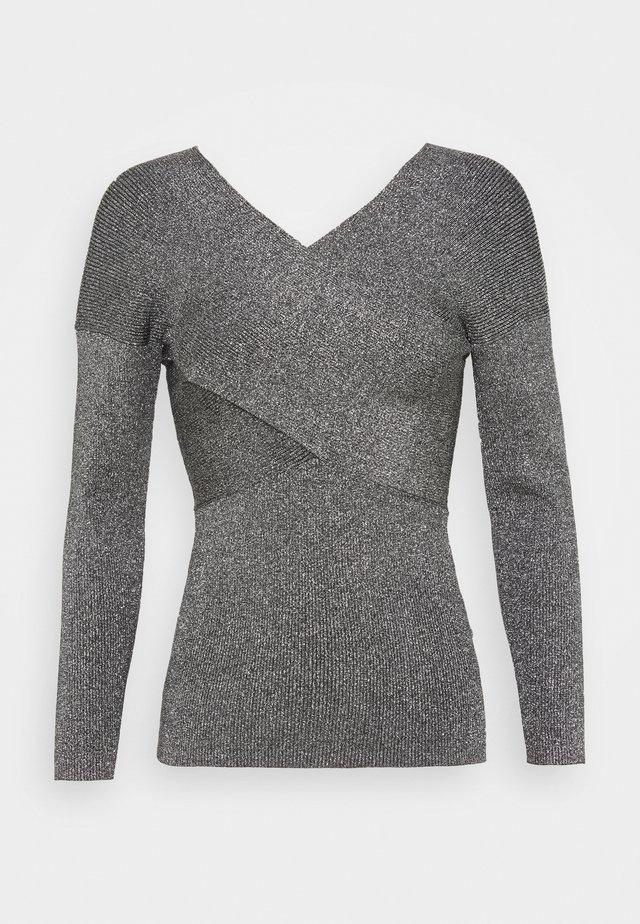 KYYRAA - Stickad tröja - black