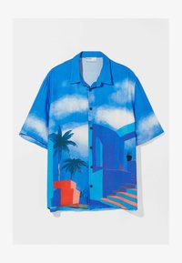 Bershka - RELAXED FIT - Shirt - blue - 4
