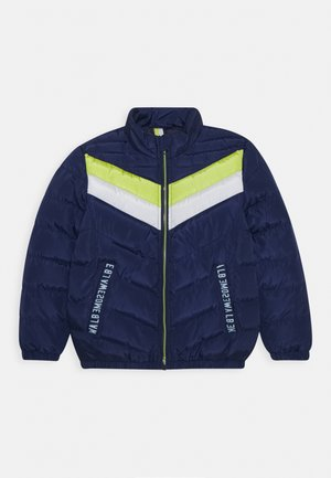 BOYS JACKET - Winterjas - medieval blue