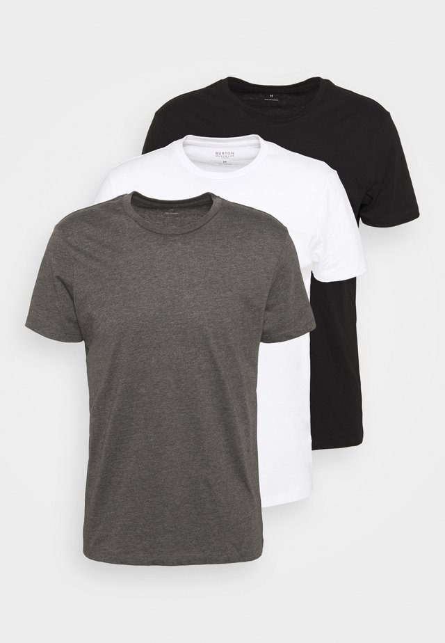 TEE 3 PACK - T-shirt basic - black