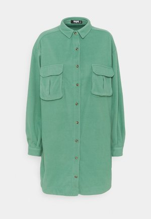 OVERSIZED SHIRT DRESS - Vestito estivo - sage