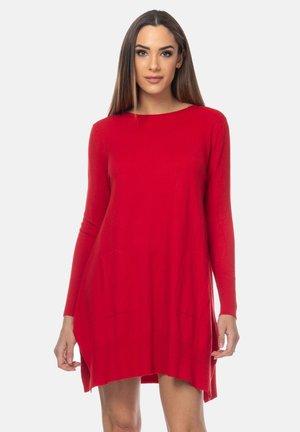 Gebreide jurk - rojo