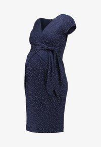 HOLLY NEW - Jersey dress - dark blue