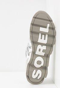 Sorel - KINETIC LACE - Sneakersy niskie - white - 6
