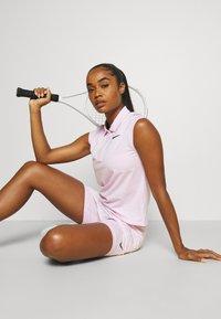Nike Performance - SKIRT - Sports skirt - regal pink/black - 3