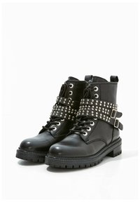 Inuovo - Cowboy/biker ankle boot - black blk - 6