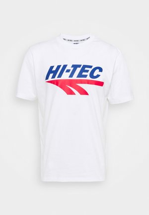 BEN - T-shirts med print - snow white