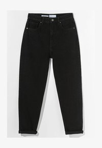 Bershka - MOM FIT JEANS - Jeans baggy - black - 5