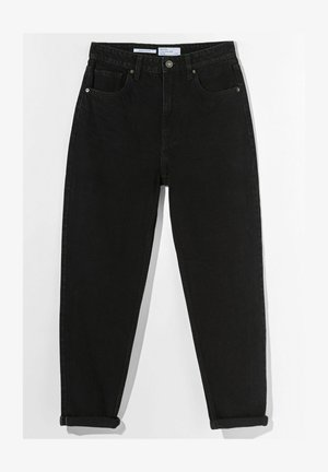 MOM FIT JEANS - Jeansy Relaxed Fit - black