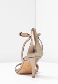 Pura Lopez - Sandals - gold - 5