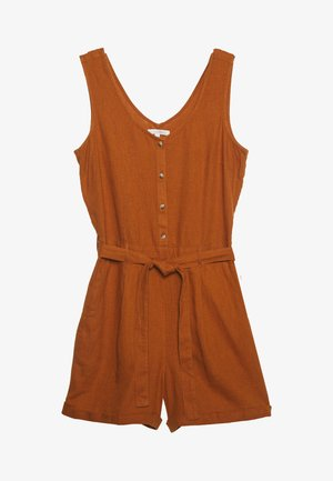 SHORTALL - Jumpsuit - mango brown