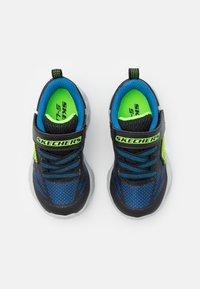 Skechers - VORTEX FLASH - Trainers - black/blue/lime - 3