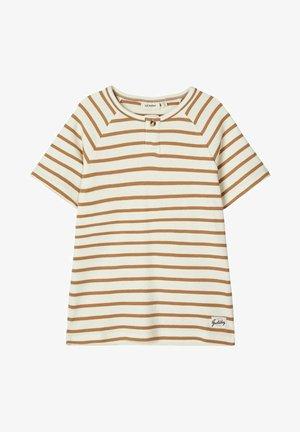 T-SHIRT GESTREIFTES - T-shirt print - white