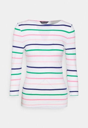 FITTED STRIPE - Long sleeved top - multicoloured