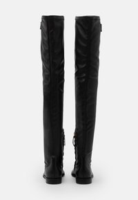 TWINSET - STIVALE TACCO BASSO CON GAMBALE STRETCH - Over-the-knee boots - nero - 3