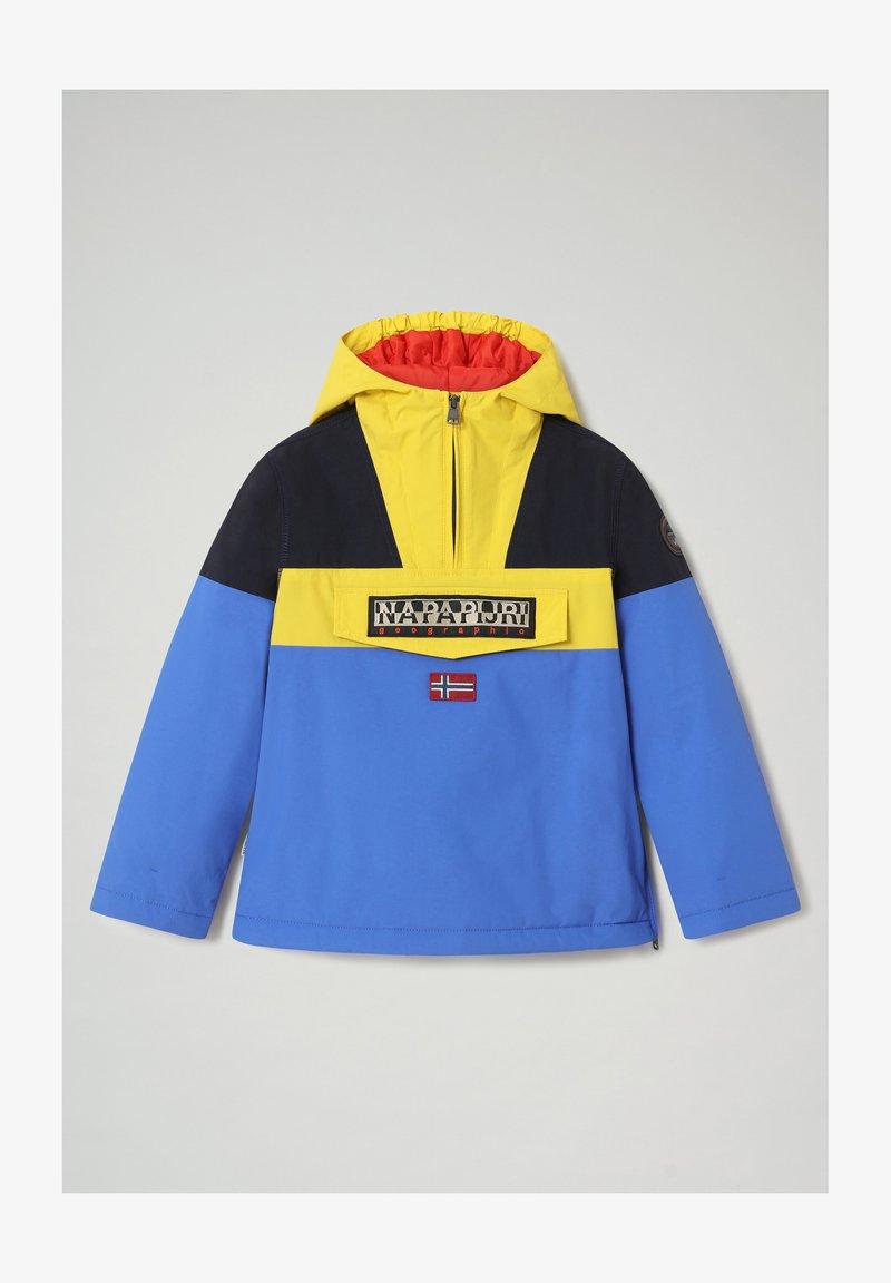Napapijri - RAINFOREST COLOUR BLOCK - Light jacket - blue dazzling