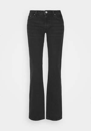 ARROW LOW - Straight leg jeans - washed black