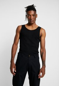 Only & Sons - ONSNATE REG TANK 2PACK - Top - black/white - 1