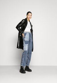 BDG Urban Outfitters - SKATE PATCHWORK - Jeans relaxed fit - blue - 1