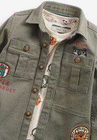 Next - SET - Shirt - khaki - 6