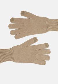 Pieces - PCCAROLA SMART GLOVES - Gloves - silver mink - 1