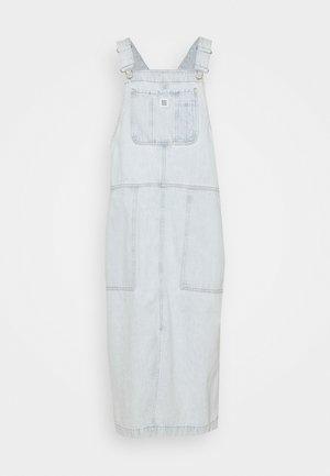 Denim dress - bleached blue