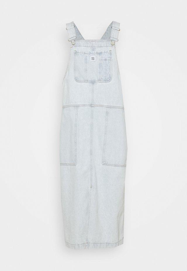 Denimové šaty - bleached blue